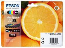 5x ORIGINAL EPSON 33XL Tinte PATRONEN XP540 XP640 XP900 XP530 XP630 XP635 XP830