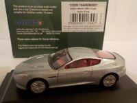 Model Car, Aston Martin DB9, Silver, 1/76 New