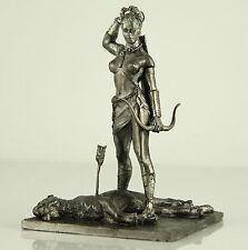 *Goddess Diana-Amazon warrior* Tin toy soldier. Collection 54mm metal figurine