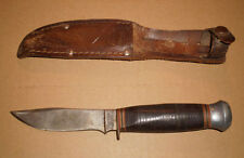 Vintage Old Military Judson Cutlery NY Knife and Sheath
