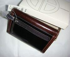 "GIANI BERNINI 'Glazed"" Black / Brown wallet."