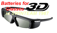 Sony 3D active glasses TDGBR50 batteries replacement !!