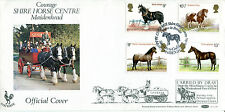 5 JULY 1978 SHIRE HORSES BENHAM BOCS4 CARRIED FIRST DAY COVER COURAGE SHS