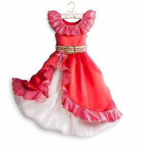 NWT DISNEY STORE ELENA OF AVALOR COSTUME DRESS Gown 9/10 Girls