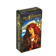 Full English Pre-Raphaelite Tarot 78 Cards Deck Family Party Board Game Toy Card