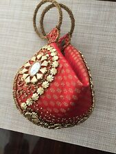 Indian BANGLE Bag Party CELLPHONE Purse Wallet Wedding Clutch ETHNIC India