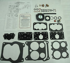 1965-74 CARB KIT 4 BARREL 4175 MODEL HOLLEY CHEVY Q-JET REPLACEMENT SPREAD BORE