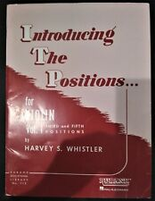 Introducing the Positions for Violin Vol 1 3rd & 5th Posit Harvey Whistler
