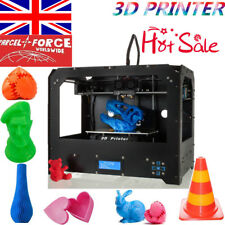 2019 FDM 3D Printer Bizer Dual Extruder & MK8 MakerBot Replicator PLA/ABS NEW