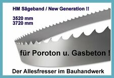 Zagro 650 NEU Sägeband Bandsägeblatt HM 4020 x27mm H3 für Poroton u Yton NEW Gen