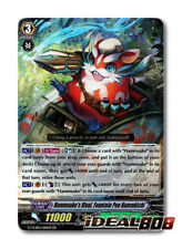 Cardfight Vanguard  x 4 Hammsuke's Rival, Fountain Pen Hammkichi - G-TCB02/019EN