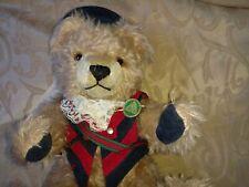 Hermann Old Heidelberg Teddy Bear #484/2000 w Pins & Tags Growler Germany Sweet