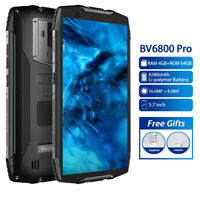 "5.7"" Blackview BV6800 Pro IP68 Waterproof Smartphone 4G+64GB 6580mAh 16MP Mobile"