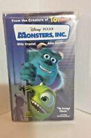 Monsters, Inc. - Disney  Pixar - 2001 - VHS Movie Billy Crystal & John Goodman