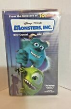 Monsters, Inc. - Disney  Pixar - 2001 - VHS Movie Billy Crystal & John Goodman
