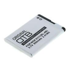 Battery for Nokia n76 650mah Li-ion (bl-4b)