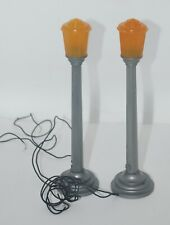 Pair of Vintage Marx O Scale Lamp Posts