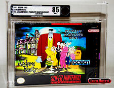 Addams Family: Pugsley's Scavenger Hunt SNES Brand New Factory Sealed VGA 85 NES