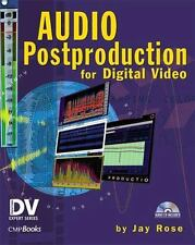 Audio Postproduction for Digital Video, Rose, Jay, Good Condition, Book
