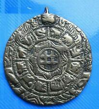 """#2128# Vintage / Jolie médaille """"ZODIAQUE"""" en bronze /Rare"""