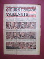 COEURS VAILLANTS N°42 du 20 OCTOBRE 1935 HERGE TINTIN ET MILOU EN ORIENT TBE