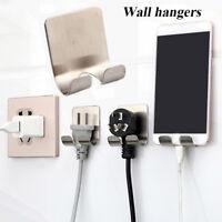 Razor Shower Sticking Adhesive Hook Plug Holder Wall Hanger Stainless Steel
