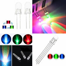 5/8/10mm RGB Common Anode/Cathode Fast/Slow Flash LED Lamp milk white/Clear ASS