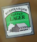 VINTAGE AUSTRALIAN BEER LABEL - EAGLE HAWK HILL BREWERY, BUSHRANGER LAGER 375 ML