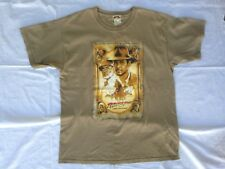 Vtg Indian Jones T Shirt Last Crusade Large