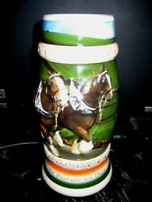 "Item #278   2005 'Clydesdales In Ireland""  St. Patrick's Day Stein   #CS613"