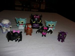 """Monster High Pet Accessories Lot3"""" to 4"""" tall"""