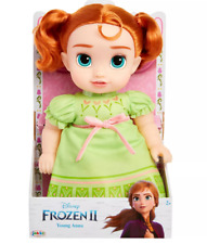 New Disney Frozen 2 - Young Anna Toy Doll with Nighttime Pijamas