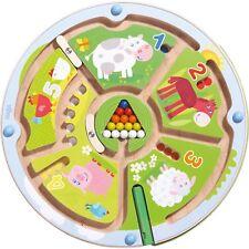 HABA Magnetspiel Zahlenlabyrinth, Geschicklichkeitsspiel