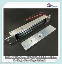 280kg 600Lbs Force 12V Invisible installation for Single Door Magnetic Lock