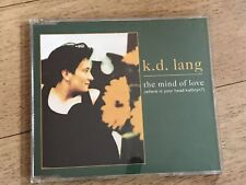 RARE KD LANG THE MIND OF LOVE WHERE IS YOUR HEAD KATHRYN SINGLE K D LANG