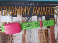 Coldplay Wristband 2012 54th GRAMMY AWARDS Grammys Set Used Prop Rihanna Green