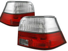 VW GOLF 4 1997 1998 1999 2000 2001 2002 2003 TAIL LIGHTS LTVW82 RED WHITE