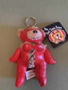 Bad Taste Bears - Scarlet Plush Keyring/chain.