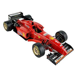 Burago 1:24 Ferrari F310 Formula Made in Italy Goodyear Shell Pioneer