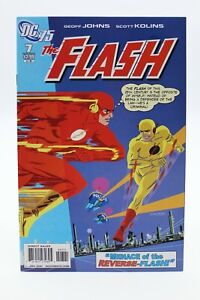 Flash (2010) #7 DC 75th Anniversary 1 In 10 Variant Darwyn Cooke Cover Johns NM-