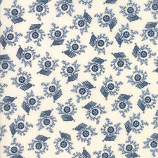 Liberty Gatherings Tallow Blue 1204 23  Moda  Fabric 1/2 Yard