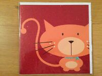 Happy Birthday Greetings Card Glitter Cat *NEW* Adult Kids Children's (071)
