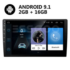 "10"" 2 DIN Android 9.1 Car Stereo MP5 Player FM Radio GPS Navigation USB 2GB+16GB"
