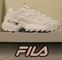 Mens Fila D-FORMATION Disruptor Chunky Sole Casual Fashion Sneakers Shoes White