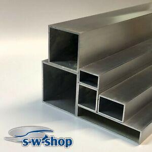 Aluminium Vierkantrohr Rechteckrohr Alurohr 3mm Materialstärke Zuschnitt