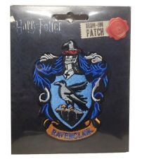 """Harry Potter Ravenclaw New Crest Logo 4"""" Tall Embroidered Patch"""