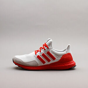 Adidas Running Ultraboost DNA x Lego Colours White Red New Men Gym Rare H67955