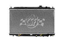 Radiator-1 Row Plastic Tank Aluminum Core CSF 3320 fits 94-01 Acura Integra