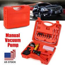 2 in 1 Vehicle Brake Bleeder/Vacuum Pump Gauge Test Tuner Kit Handheld Tools Set