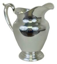 Large GORHAM #182 Wide Mouth 4-1/4 Pint Sterling Silver French Water Pitcher Jug